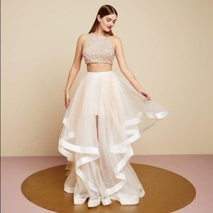 🌿GLAMOUR BY TERANI COUTURE TWO PIECE FORMAL DRESS